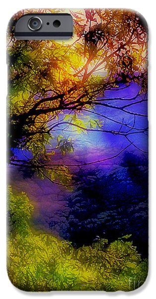 That Mountain Light iPhone Case by Judi Bagwell
