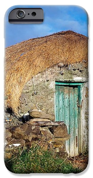 Thatched Shed, St Johns Point, Co iPhone Case by The Irish Image Collection