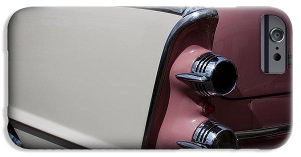 Lancer iPhone Cases - The 1955 Dodge Royal Lancer Sedan iPhone Case by David Patterson