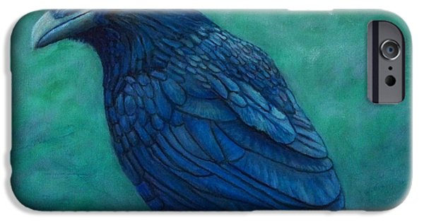 Corvid iPhone Cases - The Ancient One iPhone Case by Brian  Commerford