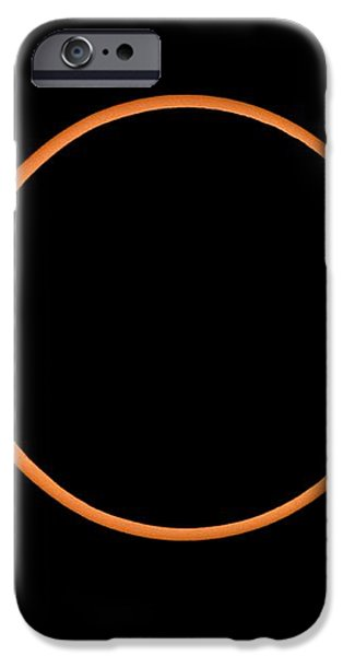 The Annular Solar Eclipse Of 10/may/1994 iPhone Case by Dr Fred Espenak