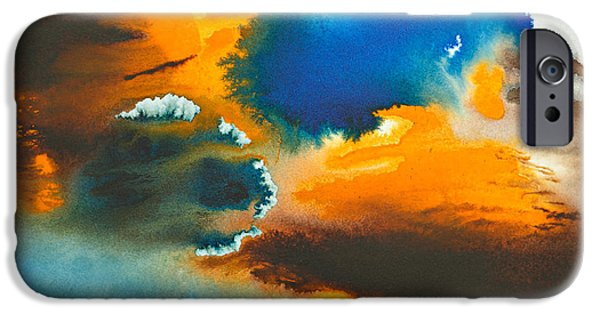 Recently Sold -  - Abstract Expressionism iPhone Cases - The Atoll iPhone Case by Phil Albone