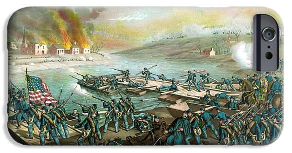 Battlefield iPhone Cases - The Battle of Fredericksburg iPhone Case by War Is Hell Store