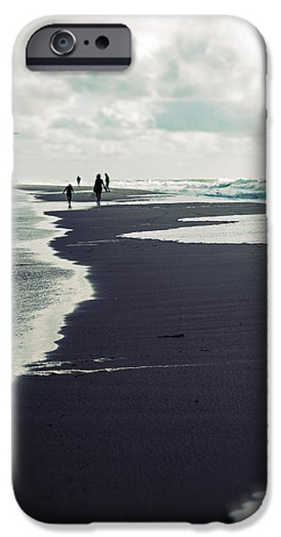 North Sea iPhone Cases - The Beach iPhone Case by Joana Kruse
