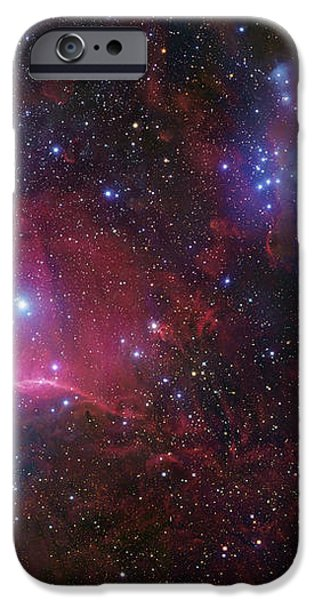 The Belt Stars Of Orion iPhone Case by Robert Gendler