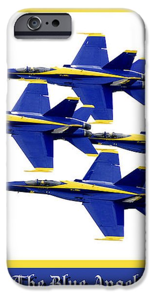 The Blue Angels iPhone Case by Greg Fortier