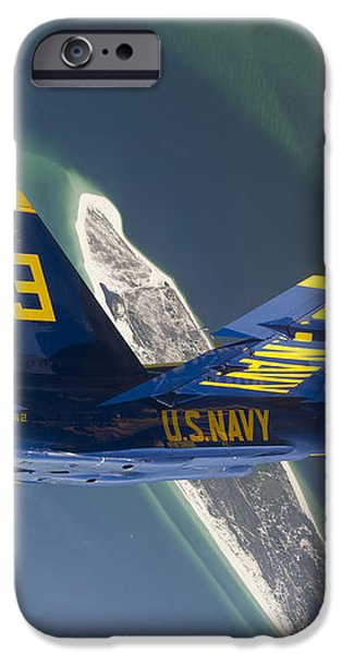 The Blue Angels Perform A Looping iPhone Case by Stocktrek Images
