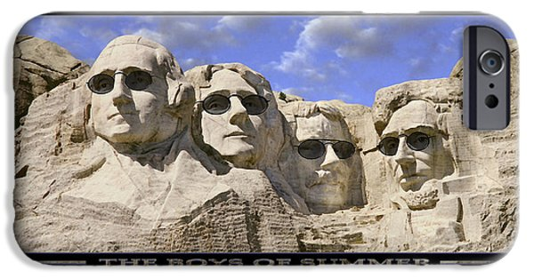 Washington Digital Art iPhone Cases - The Boys Of Summer iPhone Case by Mike McGlothlen
