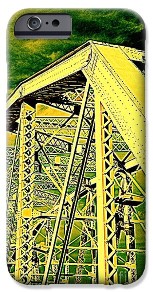 The Bridge to The Skies iPhone Case by Susanne Van Hulst