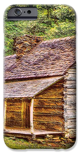 The Bud Ogle Homestead iPhone Case by Barry Jones