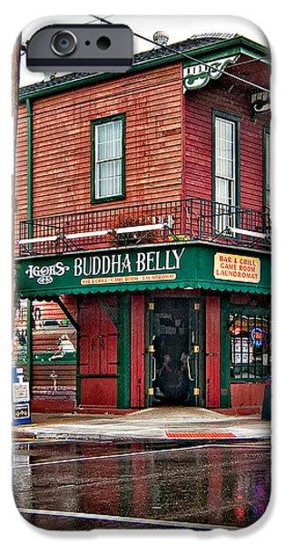 The Buddha Belly iPhone Case by Steve Harrington