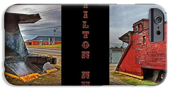 Caboose Photographs iPhone Cases - The Caboose iPhone Case by Joann Vitali