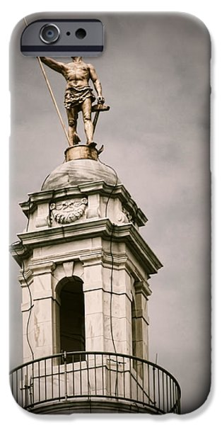 Rhode Island iPhone Cases - The Capitol iPhone Case by Lourry Legarde