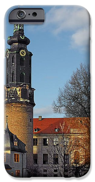 The Castle - Weimar - Thuringia - Germany iPhone Case by Christine Till