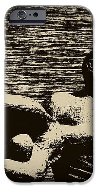 The Catch iPhone Case by Bill Cannon