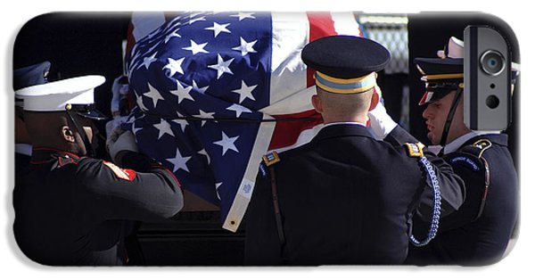 Air Force One iPhone Cases - The Ceremonial Honor Guard Places iPhone Case by Stocktrek Images
