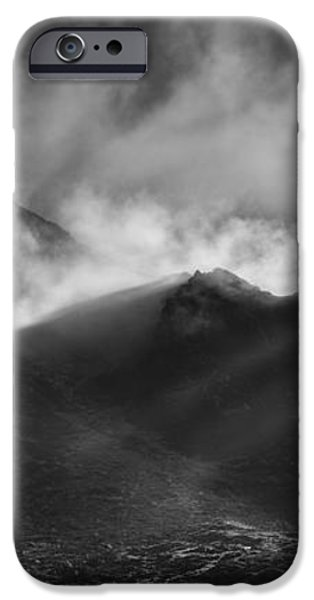 The Chancel in Black and White iPhone Case by Andy Astbury