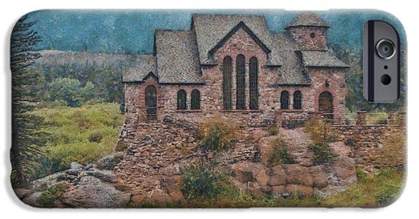 Chapel On The Rock iPhone Cases - The Chapel iPhone Case by Ernie Echols