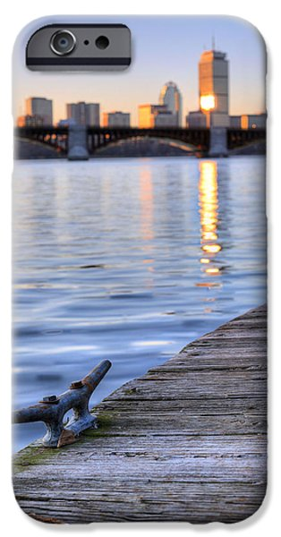 Charles River iPhone Cases - The Charles  iPhone Case by JC Findley