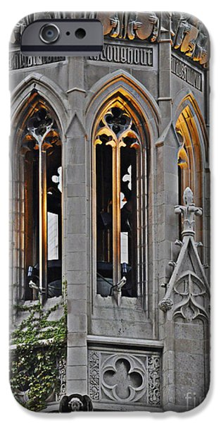 The Church Tower iPhone Case by Mary Machare