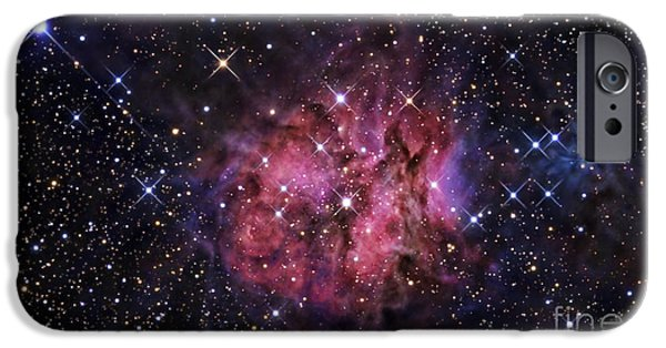 Starfield iPhone Cases - The Cocoon Nebula iPhone Case by R Jay GaBany