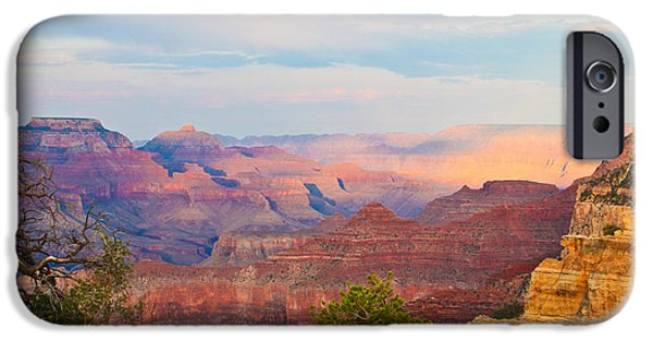 Grand Canyon iPhone Cases - The Colors Of The Canyon iPhone Case by Heidi Smith