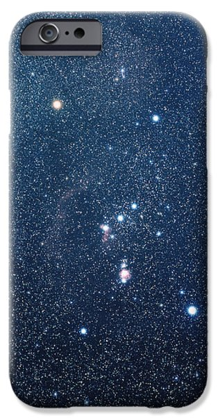 Constellations iPhone Cases - The Constellation Of Orion iPhone Case by Luke Dodd