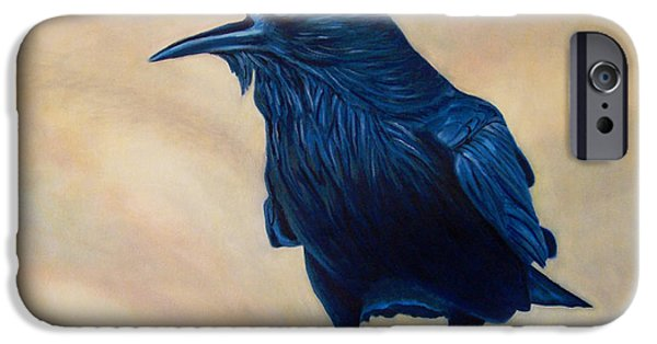 Corvid iPhone Cases - The Conversation iPhone Case by Brian  Commerford