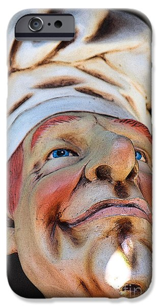 Best Sellers -  - Statue Portrait iPhone Cases - The Cook iPhone Case by Sophie Vigneault