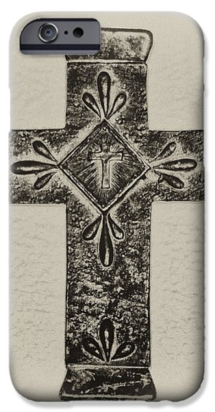 The Cross iPhone Case by Bill Cannon