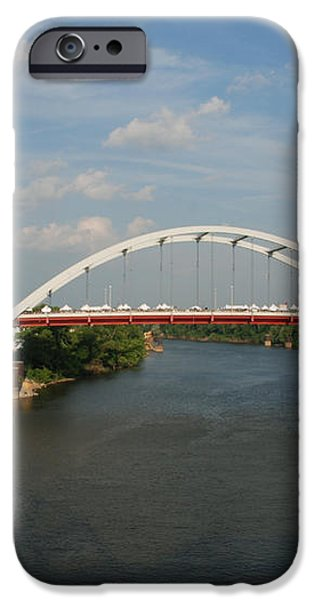 The Cumberland River in Nashville iPhone Case by Susanne Van Hulst