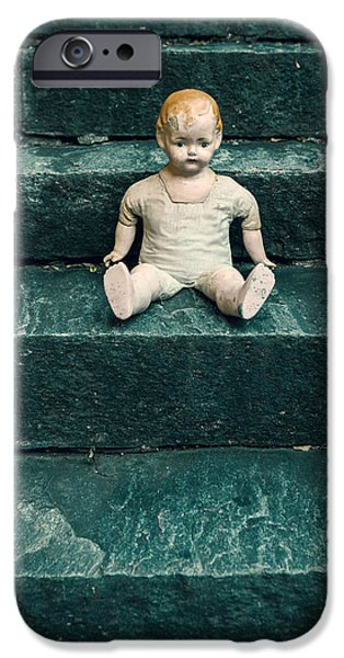 Creepy iPhone Cases - The Doll iPhone Case by Joana Kruse
