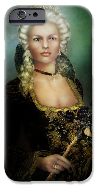 The Duchess iPhone Case by Karen H