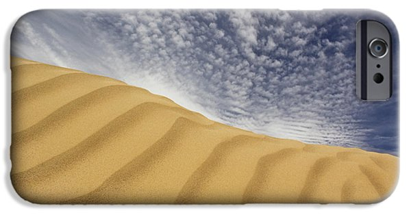 Sand Dunes iPhone Cases - The Dunes iPhone Case by Mike McGlothlen