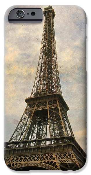 The Eiffel Tower iPhone Case by Laurie Search