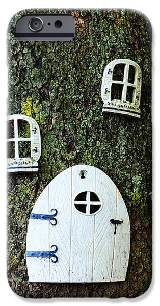 The Elf House iPhone Case by Paul Ward