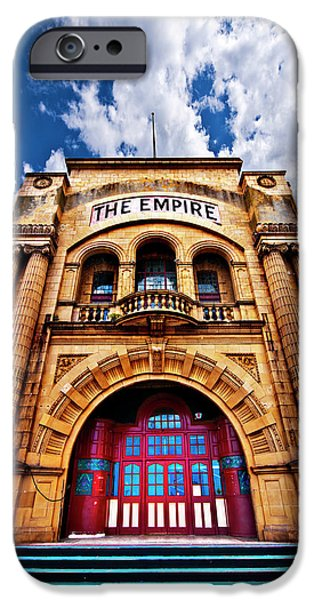Theatre iPhone Cases - The Empire Theatre iPhone Case by Meirion Matthias