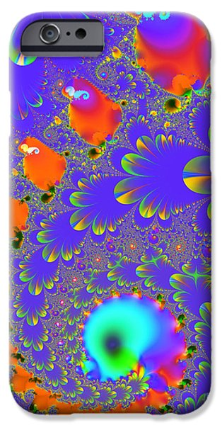 Algorithmic Digital Art iPhone Cases - The Enchanted Forest . S8 iPhone Case by Wingsdomain Art and Photography