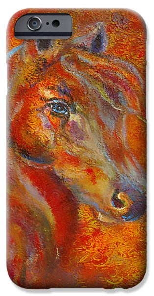The Fire Of Passion iPhone Case by The Art With A Heart By Charlotte Phillips