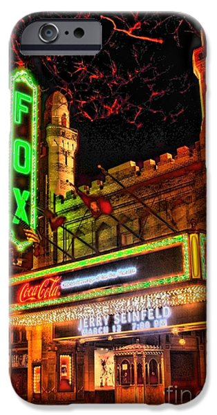 The Fox Theater Atlanta Ga. iPhone Case by Corky Willis Atlanta Photography