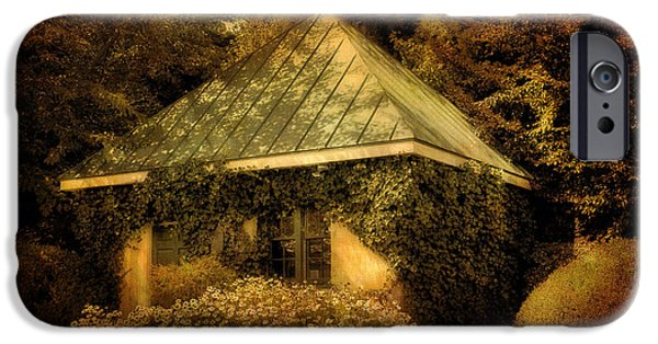 Garden Shed iPhone Cases - The Gatehouse iPhone Case by Lois Bryan