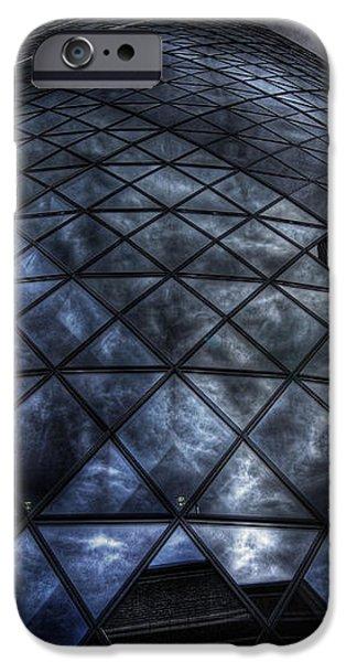 The Gherkin - Neckbreaker View iPhone Case by Yhun Suarez