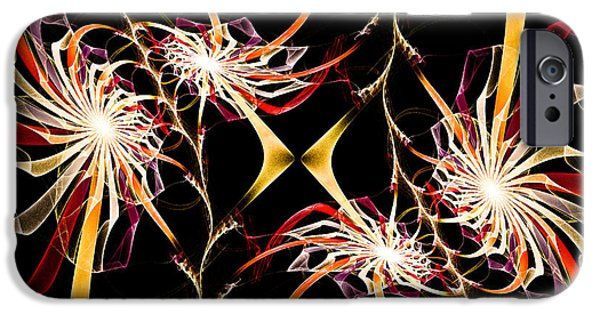 Fine Art Fractal iPhone Cases - The Gift iPhone Case by Andee Design