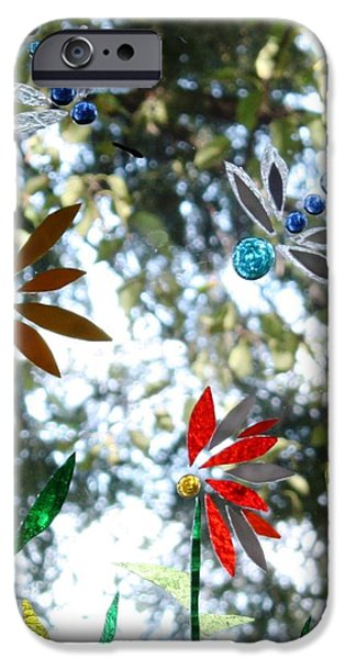 Snake Glass iPhone Cases - The Glass Garden iPhone Case by Pat Purdy