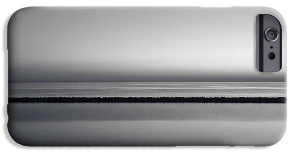 Cj iPhone Cases - The Grays of a Sunrise iPhone Case by CJ Schmit