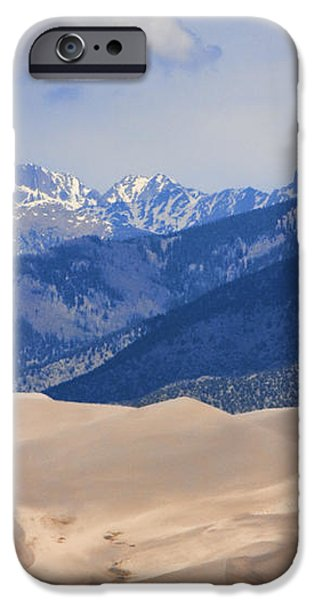 The Great Sand Dunes Color Print 45 iPhone Case by James BO  Insogna