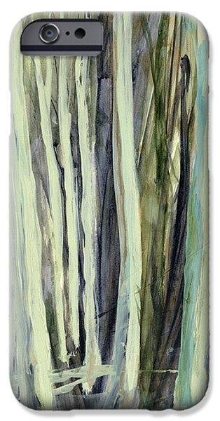 Nature Abstract iPhone Cases - The Grove iPhone Case by Andrew King
