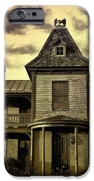 The Haunted Mansion iPhone Case by Bill Cannon