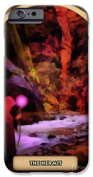 Destiny iPhone Cases - The Hermit iPhone Case by John Edwards