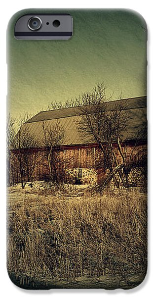 The Hiding Barn iPhone Case by Joel Witmeyer